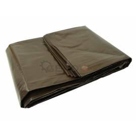 Bâche de protection extra épaisse marron en 200 g/m²